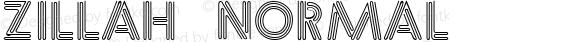 Zillah Normal 1.0 Sun Sep 11 11:15:06 1994
