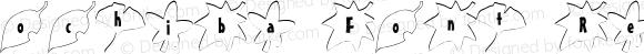 ochiba Font Regular 1.0