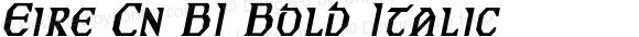 Eire Cn BI Bold Italic Unknown