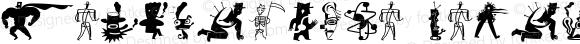 ZeitGuysOne Regular Altsys Fontographer 3.5  9/7/94