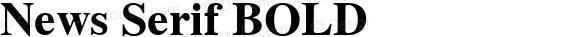News Serif BOLD