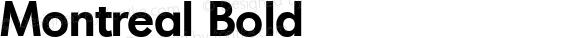 Montreal Bold Altsys Fontographer 3.5  31.01.1994