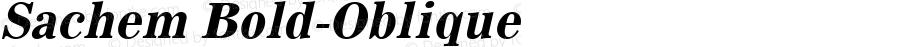 Sachem Bold-Oblique 1.0 Tue Sep 20 18:50:35 1994