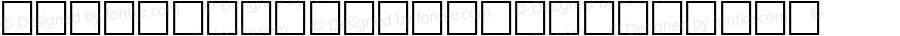 BendalGothicItal Regular Altsys Fontographer 3.5  9/25/92