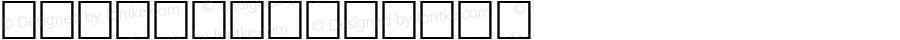 Klaven Regular Altsys Fontographer 3.5  9/25/92