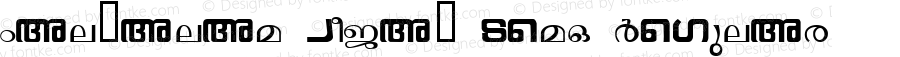 Malyalam Vijay Demo Regular Macromedia Fontographer 4.1 9/25/95