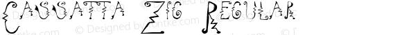 Cassatta Zig Regular Altsys Fontographer 4.1 11/1/97