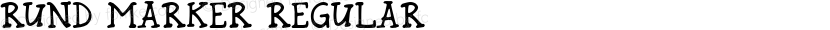 Rund Marker Regular Preview Image