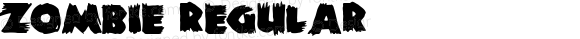 Zombie Regular Macromedia Fontographer 4.1.5 9/30/98