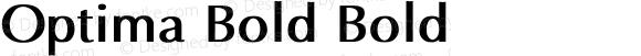 Optima Bold Bold Unknown