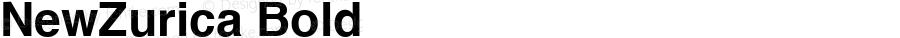 NewZurica Bold Altsys Fontographer 3.5  5/27/92