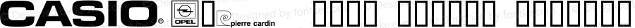 CORPart™ Sample Regular Macromedia Fontographer 4.1.3 10/3/96