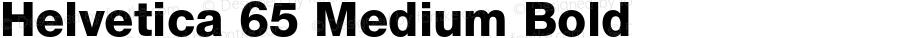 Helvetica 65 Medium Bold OTF 1.0;PS 001.002;Core 1.0.22
