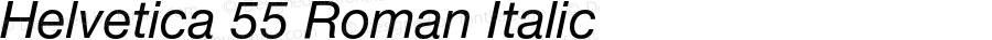 HelveticaNeue-Italic