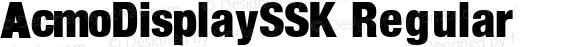 AcmoDisplaySSK Regular Altsys Metamorphosis:10/6/94
