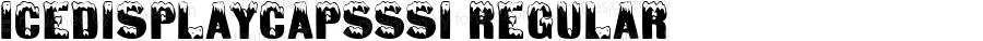 IceDisplayCapsSSi Regular Macromedia Fontographer 4.1 8/3/95