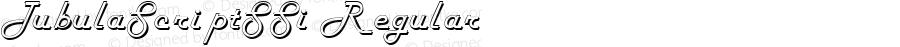 TubulaScriptSSi Regular Macromedia Fontographer 4.1 8/13/95
