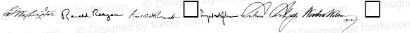 American Presidents SAMPLE Normal 1.0 Fri Oct 14 09:34:43 1994