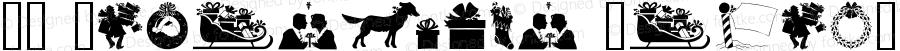 GE Christmas Silhouettes Regular 1.0