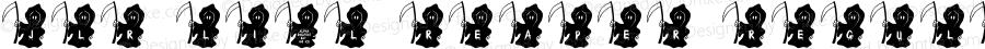 JLR Li'l Reaper Regular Macromedia Fontographer 4.1 10/15/00