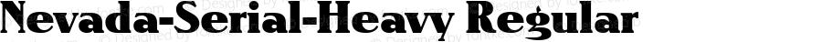 Nevada-Serial-Heavy Regular 1.0 Thu Oct 17 15:09:56 1996