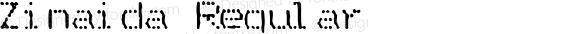 Zinaida Regular Tishrei 5761