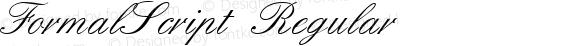 FormalScript Regular