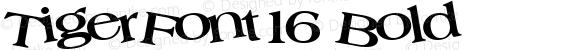 TigerFont16 Bold Altsys Metamorphosis:10/29/94