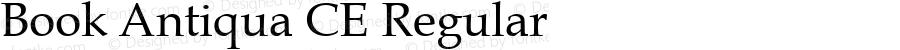 Book Antiqua CE Regular Version 1.4 - East European character set