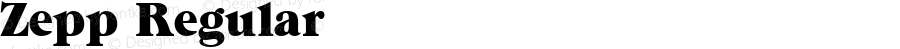 Zepp Regular 1.0 Mon Nov 06 11:08:51 1995