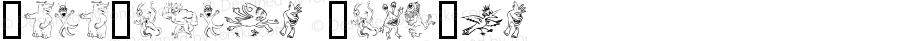 ZonoPlanet ClipArt Macromedia Fontographer 4.1.4 11/6/00