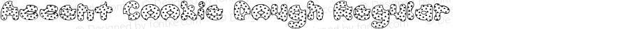 Accent Cookie Dough Regular Macromedia Fontographer 4.1 11/12/1998