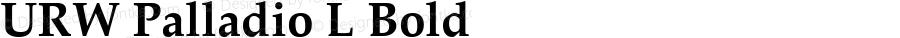 URW Palladio L Bold 001.005