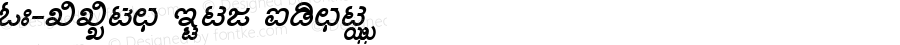 KN-TTUma Bold Italic 1.0 Thu Nov 16 11:36:25 1995