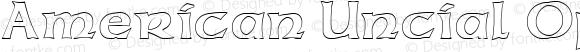American Uncial Open Regular Altsys Fontographer 3.5  11/25/92
