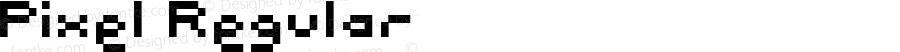 Pixel Regular Macromedia Fontographer 4.1 20-08-98