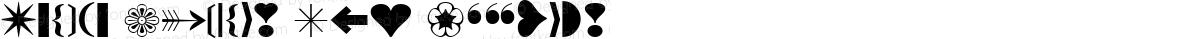 Iconic Symbols Ext Regular