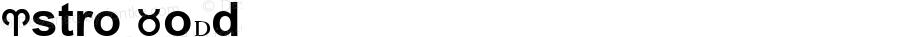 Astro Bold Astro-vic font :V1.00