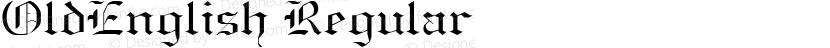OldEnglish Regular Preview Image