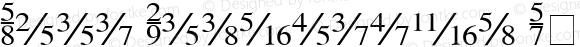 Seri Fractions Plain 001.004