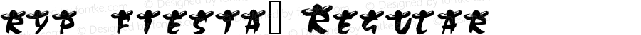 ryp_fiesta2 Regular Macromedia Fontographer 4.1 15/12/2000