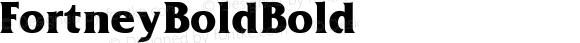 Fortney Bold Bold Unknown