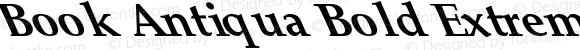 Book Antiqua Bold Extreme Lefty Regular Unknown
