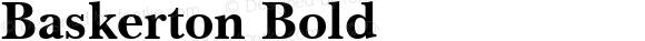 Baskerton Bold