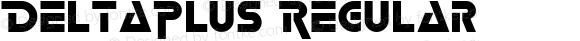 DeltaPlus Regular Altsys Fontographer 3.5  22/02/94