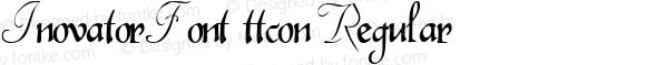 InovatorFont ttcon Regular Altsys Metamorphosis:10/27/94