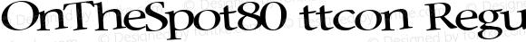 OnTheSpot80 ttcon Regular Altsys Metamorphosis:10/27/94