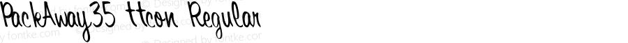 PackAway35 ttcon Regular Altsys Metamorphosis:10/27/94