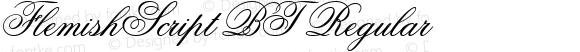 Flemish Script BT