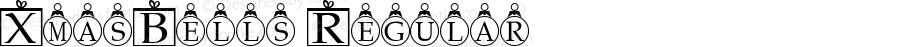 XmasBells Regular Altsys Fontographer 3.5  5/18/93